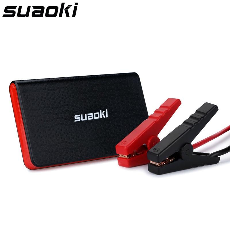 Prix pour Suaoki 8000 mAh Jump Starter U2 Portable Batterie Booster et Chargeur avec Intelligent Pinces et LED lampe de Poche
