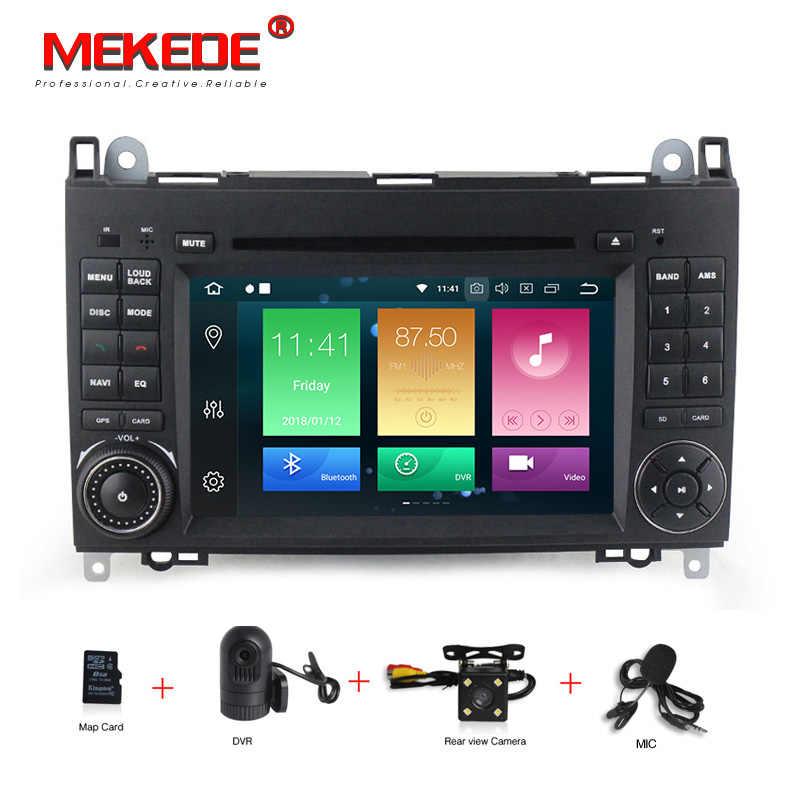 HD Android 8,0 автомобиль DVD gps для Mercedes Benz Sprinter B200 W209 W169 W169 B-класс W245 B170 Vito w639 DVD плеер 4 г + 32 г