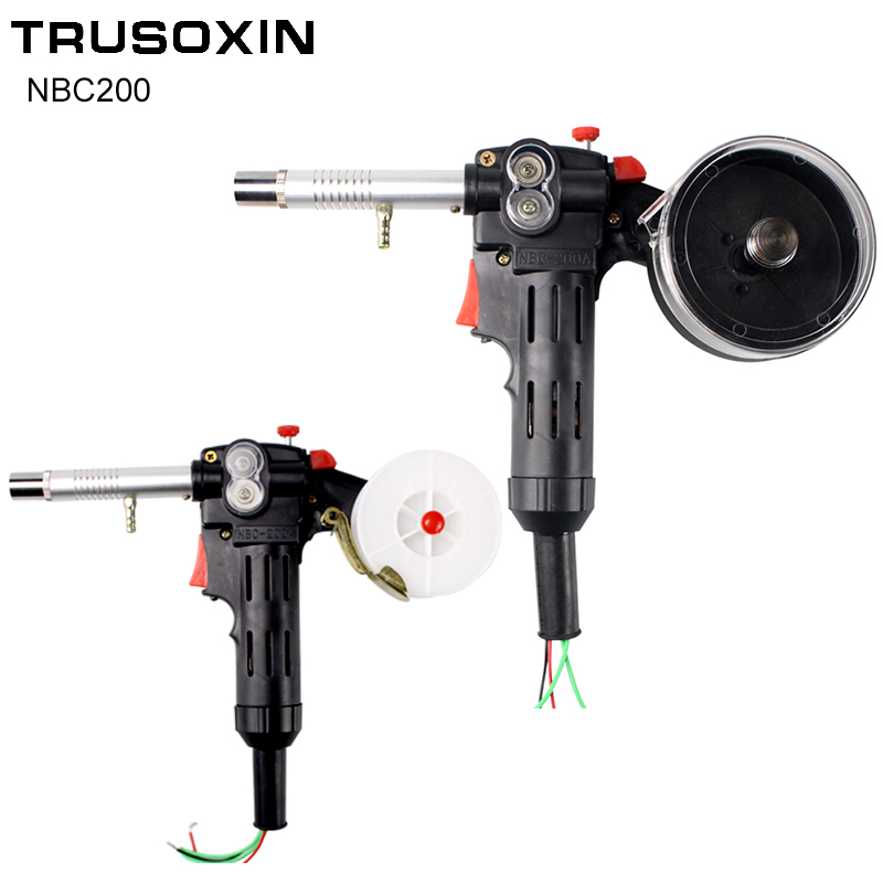 MIG Welding Equipment Spool Gun Push Pull Feeder Aluminum Copper or Stainless Steel DC 24V Motor Line-Drawing Welding Torch profesional mig welding wire copper mild steel rod electrode er70s 6 0 9mm 0 9kg 2lb spool abs lr shipping approval