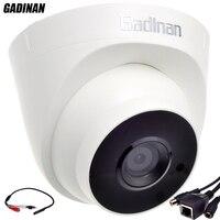 GADINAN 오디오 기능 ONVIF 유선 오디오 돔 IP 카메라 나이트 비전 CCTV 외부 오디오 픽업 720 마력/960 마력 H.264 네트워크