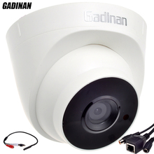 GADINAN Audio Function ONVIF Wired Audio Dome IP Camera Night Vision CCTV With External Audio Pickup 720P/960P H.264 Network