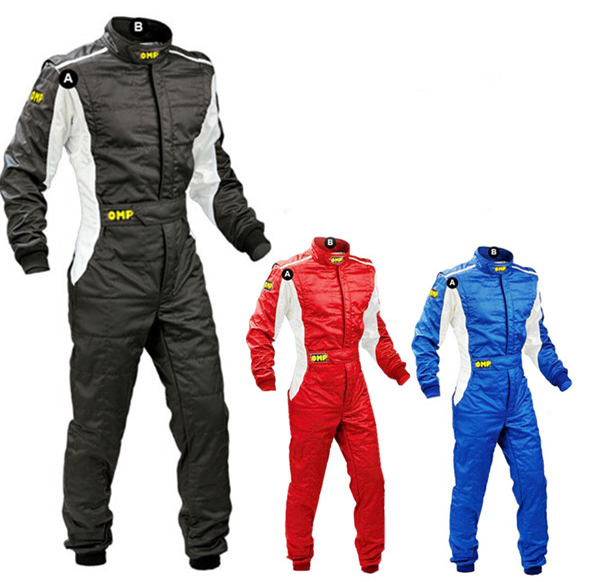 Childrens One-piece racing suit childrens kart drift racing clothes practice clothes wea ...