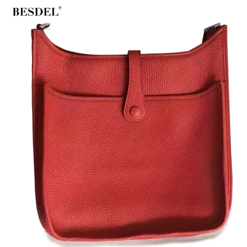 Designer Luxury Leather Handbag Genuine Leather Crossbody Bags For Women 2017 Famous Brand Classic Shoulder Bag Top Quality