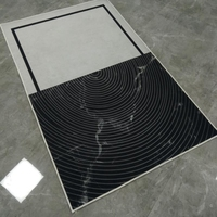 White Black Geometric Large Carpet and Rug 160*230 cm Living Room Non Slip Floor Mats Bedroom Tapete Sofa Home Decor Area Rugs