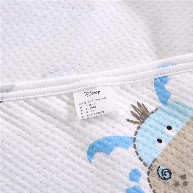 Синие одеяла с Микки Маусом Дисней, летние одеяла, постельные принадлежности для мальчиков, детские постельные принадлежности для спальни, односпальные, полностью королевские, хлопковые