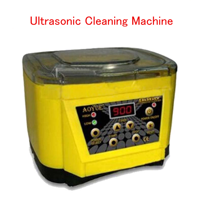 110V/220V 1L Ultrasonic Cleaning Machine Jewelry Watch Ultrasonic Cleaner Samll Electric Cleaner AOYUE 9060 110v 220v aoyue9050 ultrasonic cleaner cleaning machine for cleaning electronic accessories