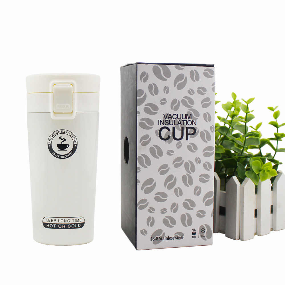 300ML Brand design Stainless steel insulation coffee thermos mug Outdoor Car Vacuum Thermos with infuser Sports Shaker bottle