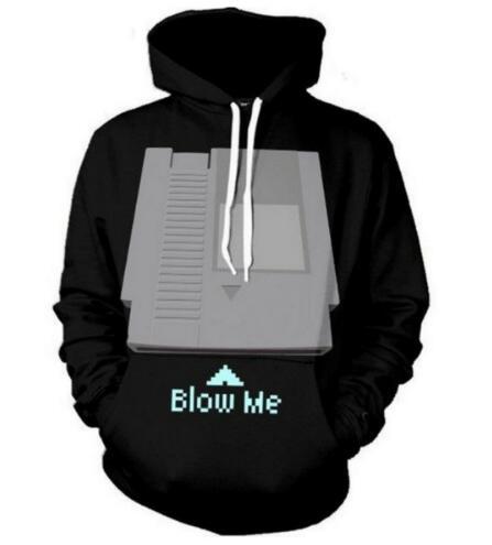 Blow Men Harajuku Tumblr Hoodies Women Men Crewneck Sweatshirt 3D Tops fashion Sweats jumper outfits pullover
