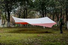 Naturehike NH New Hexagonal Canopy Outdoor UV Beach Tent Multiplayer Rain Camping Large Pergola Awning, Large Size