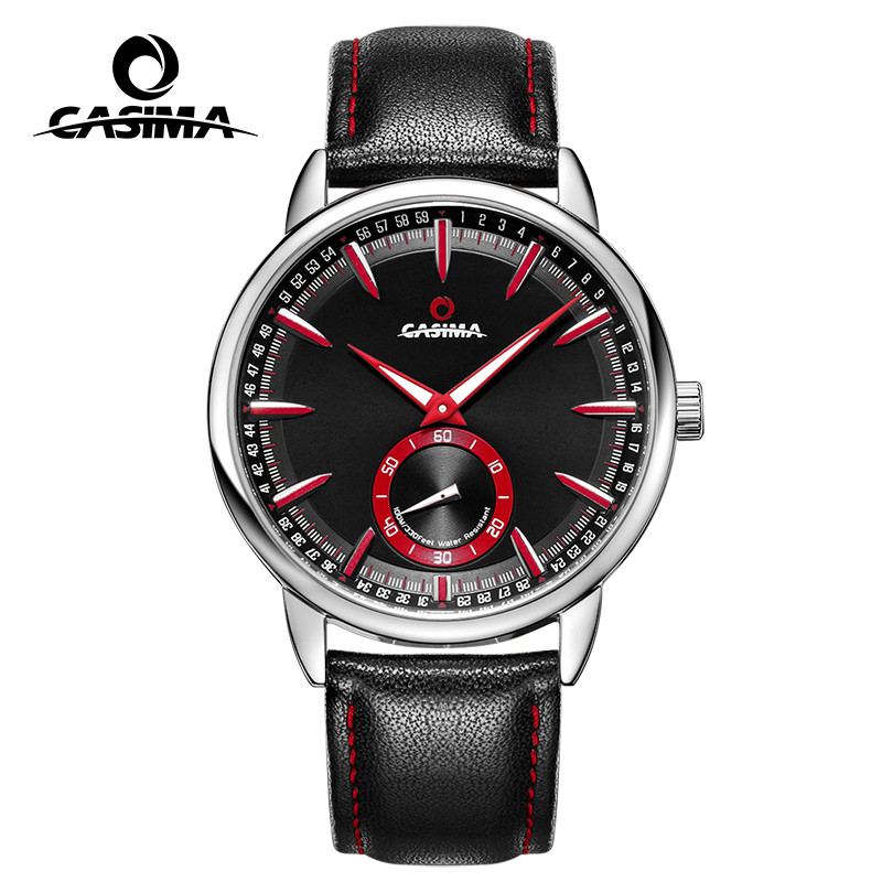 2017Hot selling watch men leather casual  fashion sports wristwatches luminous quartz-watch men waterproof100m CASIMA# 83042017Hot selling watch men leather casual  fashion sports wristwatches luminous quartz-watch men waterproof100m CASIMA# 8304