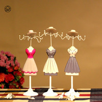 LADY PARTY Metal Jewelry Display Stand Necklace Showing Rack Earringe Hanging Holder Bracelet Shelf ZAKKA Home