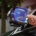 Автомобильный Стайлинг зеркальная защитная пленка заднего вида противотуманные прозрачные непромокаемые чехлы наклейки для Mercedes Benz W205 W213 ...