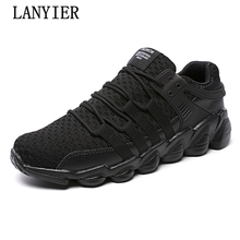 High Quality breathable casual shoes for men 2017 fashion mans  luxury branded designer male shoes for adults plus size