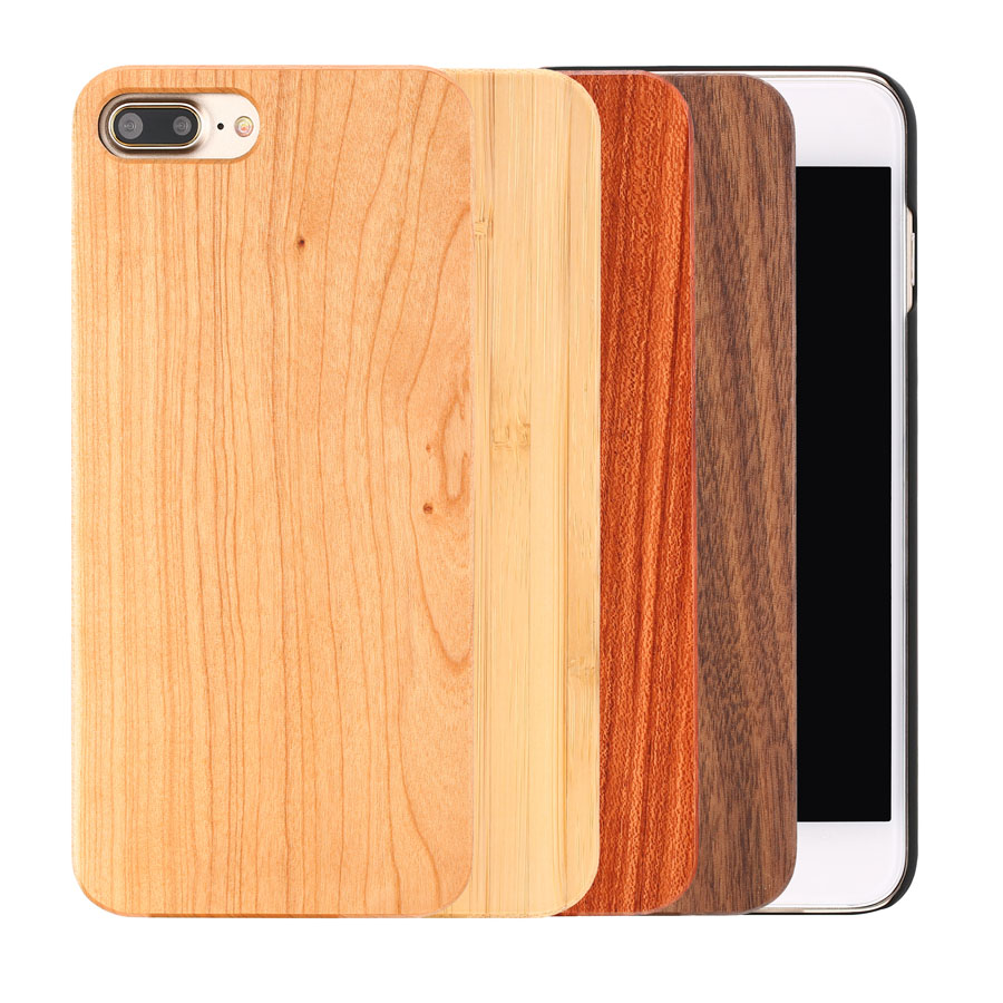 Real Wood Case For iphone 11Pro MAX X XR 8 7 6 Plus Cover Natural Bamboo Wooden Hard Phone Cases For Samsung Galaxy S10 S9 Plus
