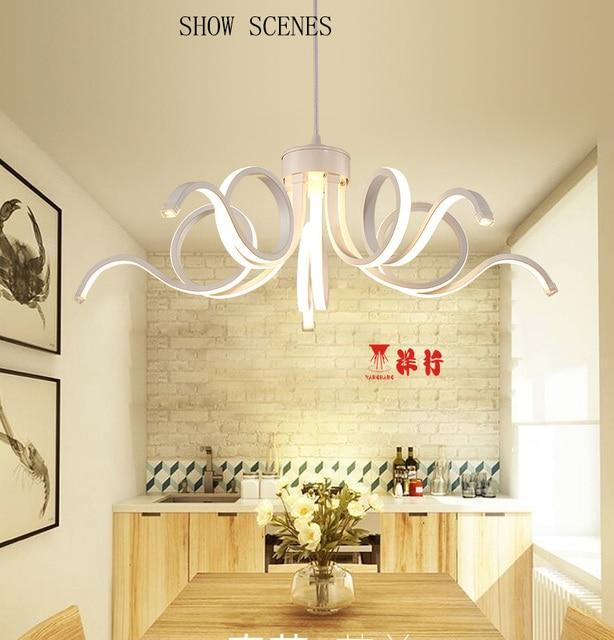 Led moderna illuminazione lampadario novelty lustro lamparas colgantes  lampada per camera da letto soggiorno lampadari luminaria luce dell\'interno