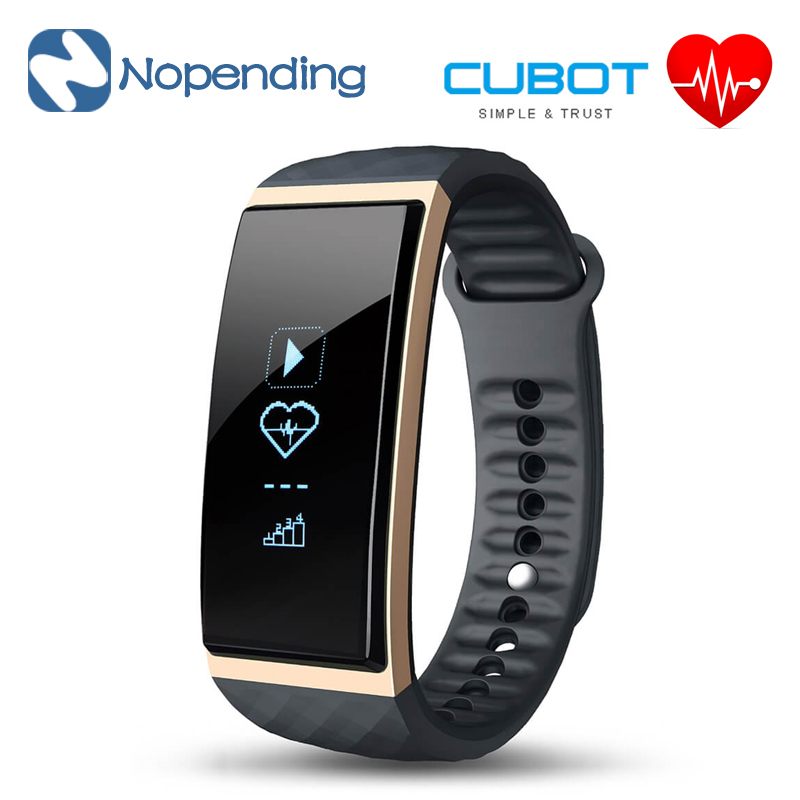 NEW Original Cubot S1 Smart Wristband Band Bluetooth Heart Rate Monitor Air Pressure Fitness Tracker IP67 Water for iOS Android bluetooth smart wrist watch blood pressure watches bracelet heart rate monitor smart fitness tracker wristband for android ios