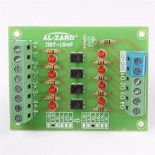 3.3 В до 24 В 4bit анод изолятор plc уровень сигнала Напряжение конвертер совета Модуль