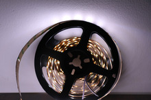 MARSWALLED High CRI 90+ LED Strip Light SMD5630 Super Bright Pure White Nonwaterproof 6000K-6500K
