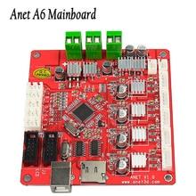 Para Anet A6 placa base Actualizado Impresora 3D Reprap Mendel Prusa rampas controlador V1.0 Placa Base 1.4 piezas de la impresora 2017