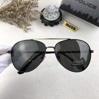 a58a70fe0f POLICE Classic Polarized Aviator Sunglasses Fashion Style Men Wearing  Sunglasses Men S Sunglasses UV400 Pilot Sunglasses