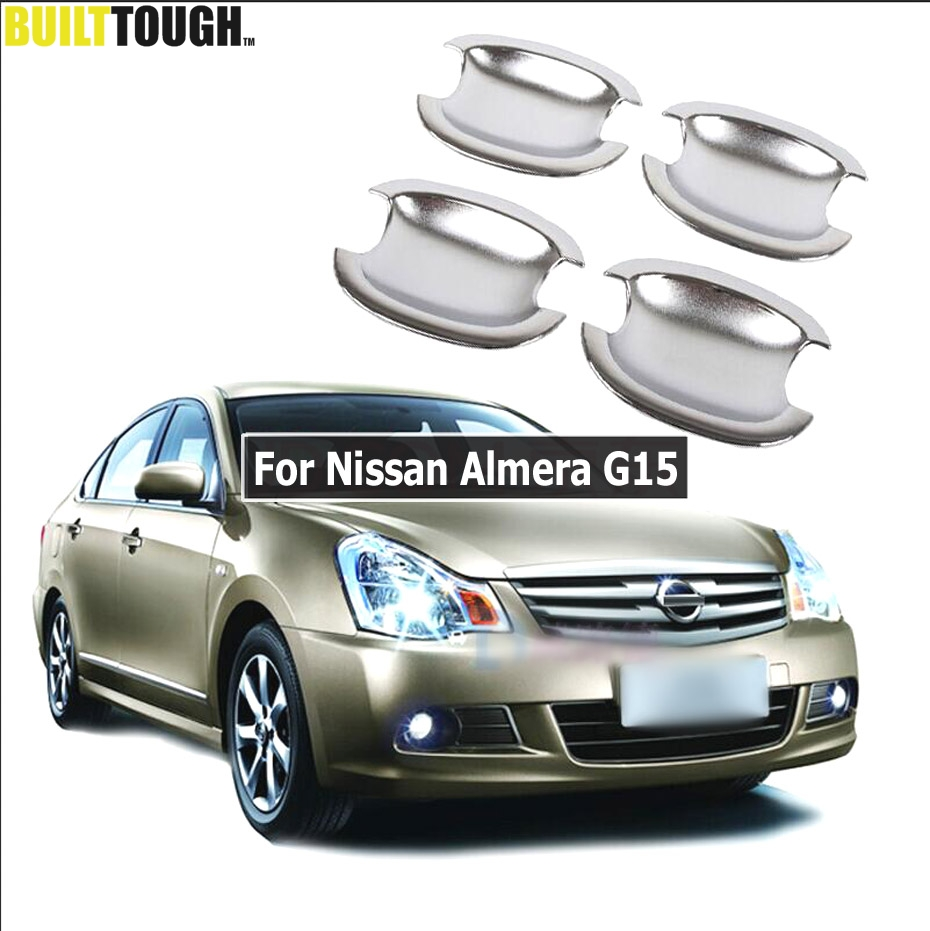 Popular nissan almera 2013 buy cheap nissan almera 2013 lots from set car chrome door handle bowl cover trim for nissan almera g15 2012 2013 2014 2015 vanachro Images