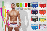 Top Underwear 2014 World Cup Brazil Mens Boxers Country Flag Underwear U S A One Piece