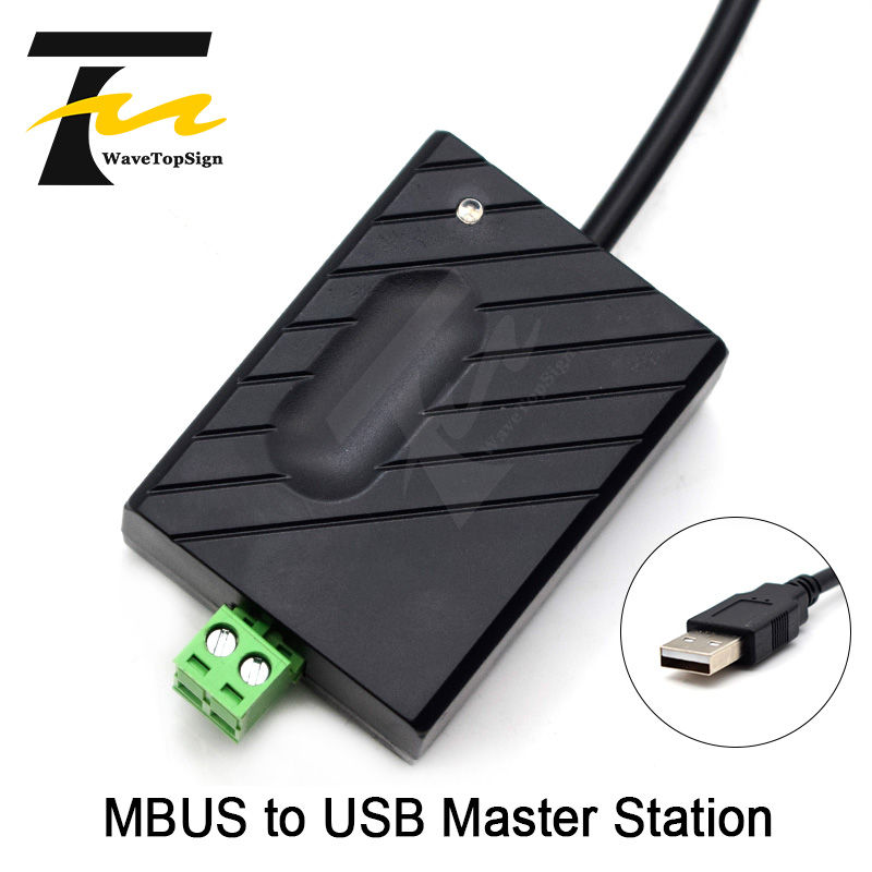WaveTopSign MBUS To USB Master Module MBUS Equipment Debugging No Need Power Supply