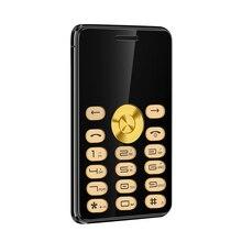 """Mparty c555b 1.3 """"телефон роскошный мини телефон супер мини ультратонких карты роскошные mp3 Bluetooth Металла Средства ухода за кожей телефон"""