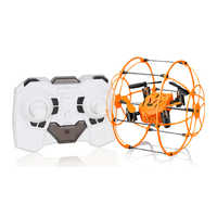 Mini Drone Ball Helic Max Sky Walker 2.4GHz 4CH Fly Ball RC Quadcopter 1336 3D Flip Roller Headless Drone RC Helicopter Toys