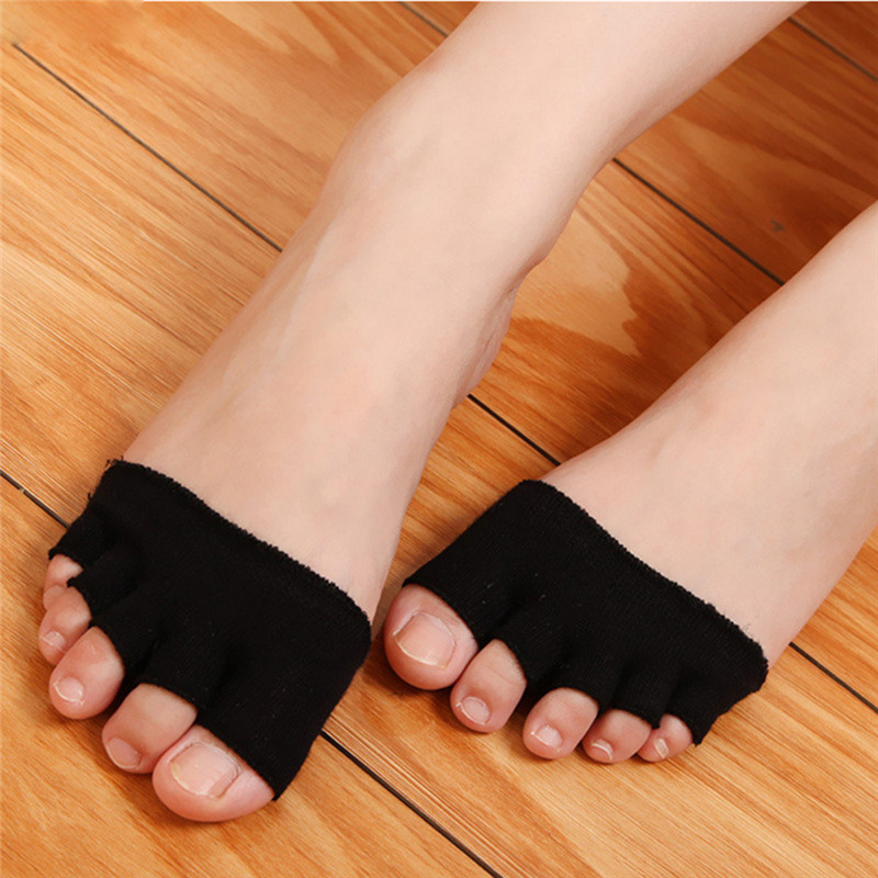 Kind-Hearted Wholesale 1 Pair 5 Toes Breathable Cotton Sponge Half Insoles Pads Cushion Metatarsal Sore Forefoot Support Massage Toe Socks Skin Care Tools