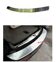 Free Shipping Car Sticker Stainless Steel Rear Bumper Protector Sill Plate Cover For Audi Q5 2009