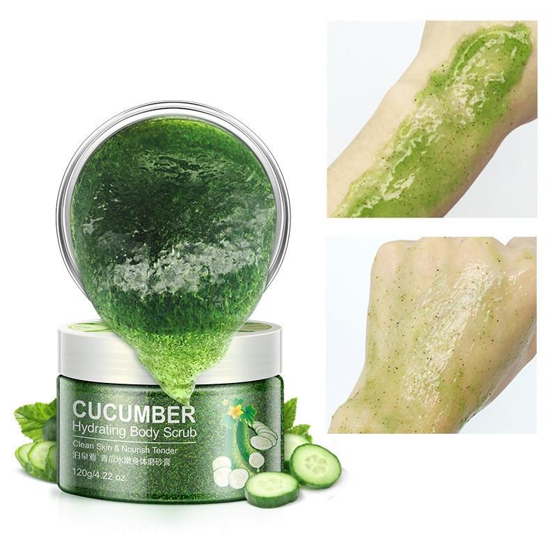 Natural Moisturizing Body Scrub Exfoliating Moisturizing Exfoliating Gel Cream Cosmetics Shrinking Pore Firming Skin Body Care