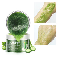 Natural Moisturizing Body Scrub Exfoliating Gel Cream Cosmetics Shrinking Pore Firming Skin Care