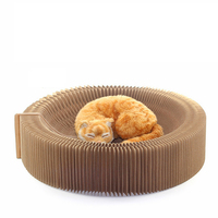 cat Accordion Scratching Board Scratcher Cat Scratching Board Nest Pets Funny Toy Training Tool