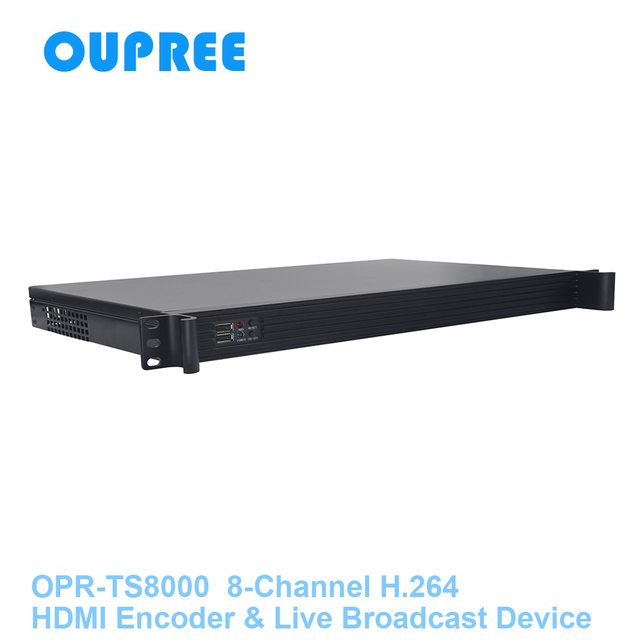 OPR-TS8000 HDMI Encoder & Live Steam Broadcast Device for remove hide STB hashcode, watermark, finger print, receiver codes