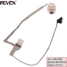 แล็ปท็อปใหม่สำหรับ TOSHIBA Satellite L745 L740 L700 PN: DD0TE5LC031 DD0TE5LC050 เปลี่ยนซ่อมโน้ตบุ๊ค LCD LVDS CABLE