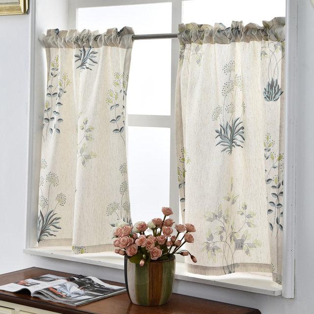 Cortinas para cocina modernas cortinas para la cocina for Cortinas visillo modernas