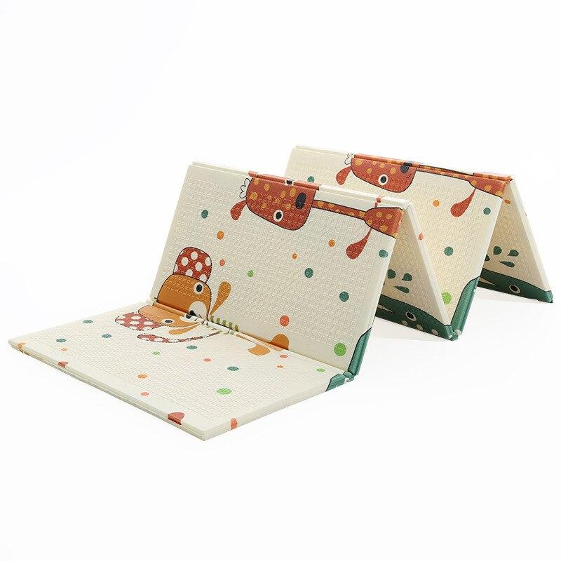 Cinq modèles style carte bébé bébé tapis d'escalade épaississement enfants pliant jeu tapis de mousse XPE tapis rampant - 2