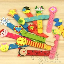 Free ship!!150pc as a lot!!Creative gift / lovely cartoon  wooden bookmarks/samll ruler