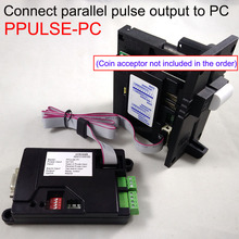 Купить с кэшбэком Parallel Pulse type comestero RM5 Coin acceptor NRI G-13 coin mech WEIYA HI-09 coin validator to PC interface for kiosk machine,