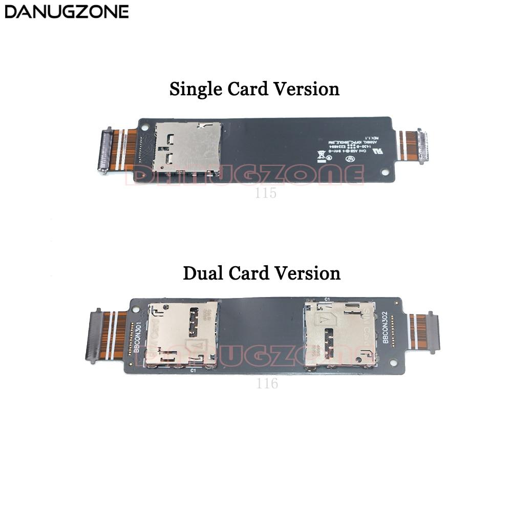 For ZenFone 5 A500CG A500KL A501CG SIM Card Reader Holder Tray Slot Flex Cable