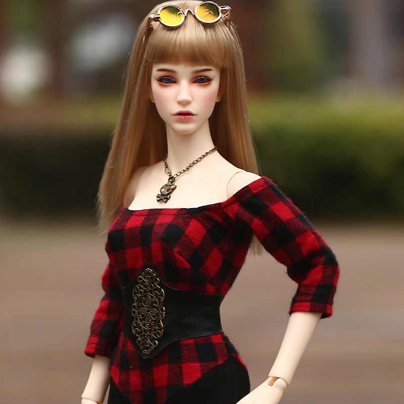 Novo Chega Raffine FID Iplehouse Bonecas BJD 1/4 de Alta Qualidade 45.5 centímetros de Moda Gril Brinquedos Melhor presente de Aniversário Do Corpo Para A Menina presentes IP
