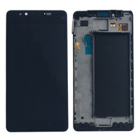 Black LCD Display Touch Screen Digitizer Glass Assembly Frame For Microsoft Lumia 950