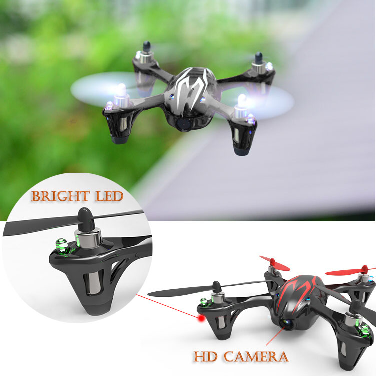 Mini RC Quadcopter 4CH UFO HD Camera Drone