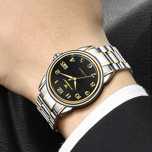 Image 2 - Relogio Masculino Luminous FNGEEN Mens Skeleton Watches Steampunk Fashion Automatic Skeleton Mechanical Wrist Watches Male Clock