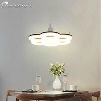 E27 Plum Lamp Circular Tube LED Pendant Ring Lamp AC85 265V Steering Wheel Led Living Room 24W Ceiling Lamp Decoration