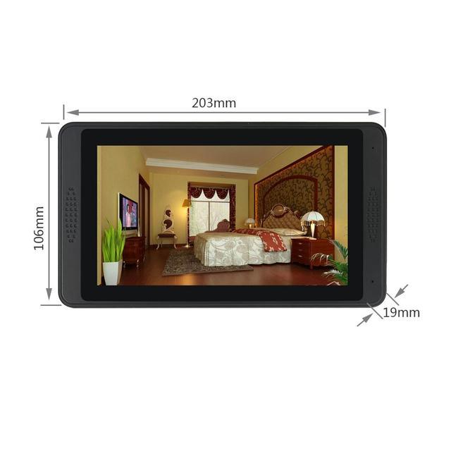 Smart APP Control Video Intercom 7 Inch LCD Wifi Wireless Video Door Phone Doorbell Visual Intercom KIT For 2/3 Apartment