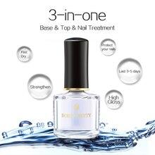 От BORN PRETTY-3-в-1 чернила на водной основе база лаки для ногтей 6 мл Уход за ногтями по уходу за ногтями маникюрный лак