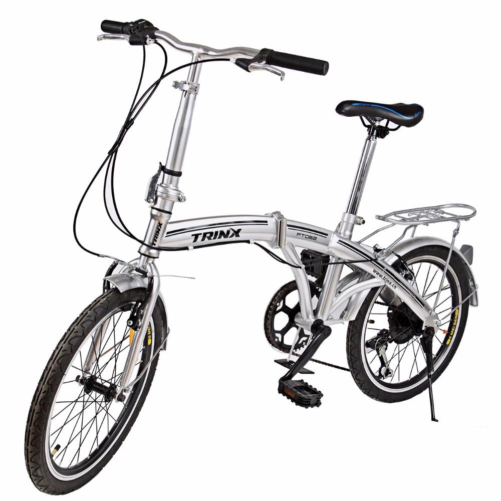 High quality silver Shimano Folding Bike 20
