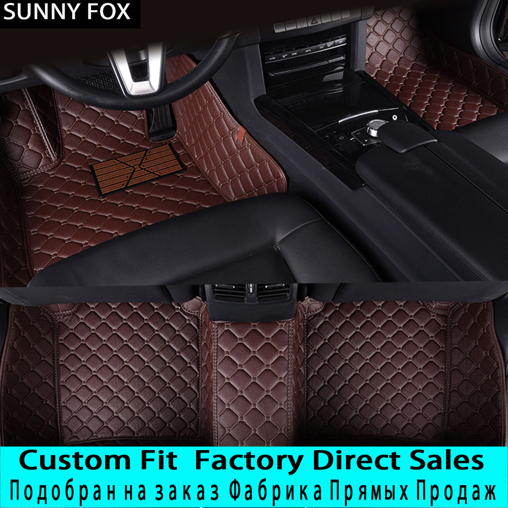SUNNYFOX Car floor mats for Honda FIT 5D sepcial all weather car styling carpet rugs floor liners(2001-present)SUNNYFOX Car floor mats for Honda FIT 5D sepcial all weather car styling carpet rugs floor liners(2001-present)